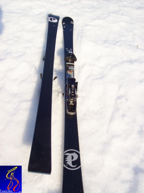 Review palmer p carving ski cm