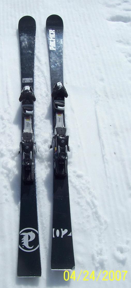 Palmer p carving ski